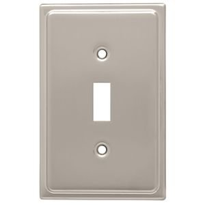 Liberty Kitchen Cabinet Hardware - Country Fair Single Toggle in Satin Nickel