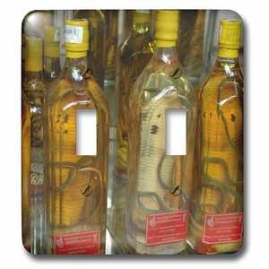 Jazzy Wallplates - Double Toggle Wallplate With Snake Wine For Sale In A Saigon Store