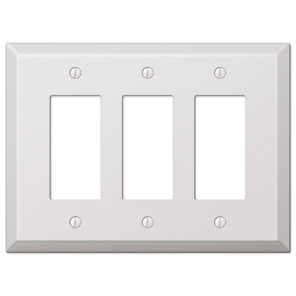 Metal Electrical Outlet Covers Oversized Outlet Covers: JustSwitchplates.com Offers: Amerelle Wallplates AMR