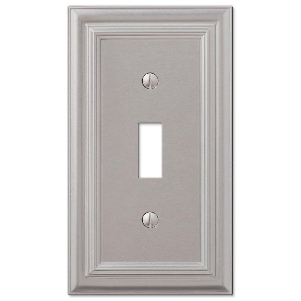 Elumina Decor Wall Plate Satin Nickel : Justswitchplates offers amerelle wallplates amr