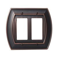 Amerock - Allison - Double Rocker Wallplate in Oil Rubbed Bronze