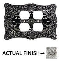 Carpe Diem Hardware - Acanthus - Double Duplex Outlet in Chalice