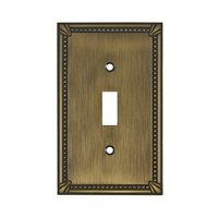 Richelieu Hardware - Switchplates - Traditional Single Toggle in Antique English